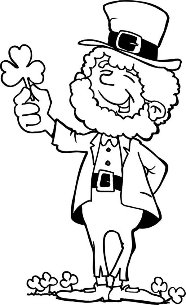 Free Coloring Pages Of Shamrocks - Coloring Home