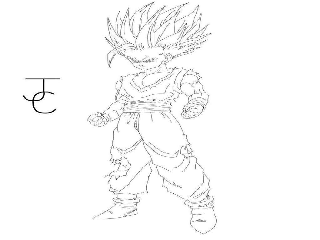 dragon ball z coloring pages goku super saiyan coloring pages goku