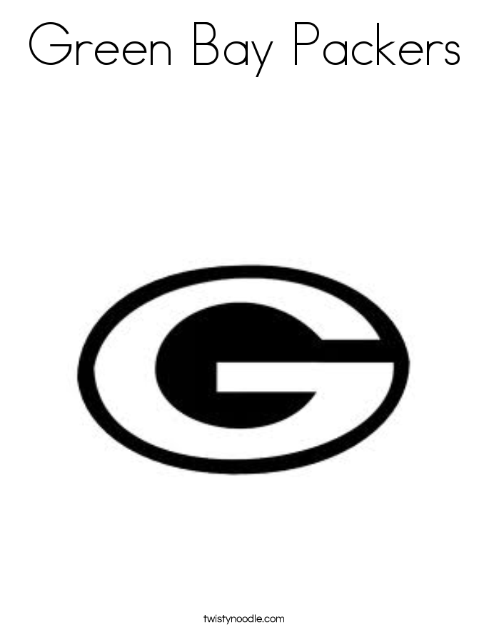 green bay packers coloring pages - greenbay coloring pages coloring home
