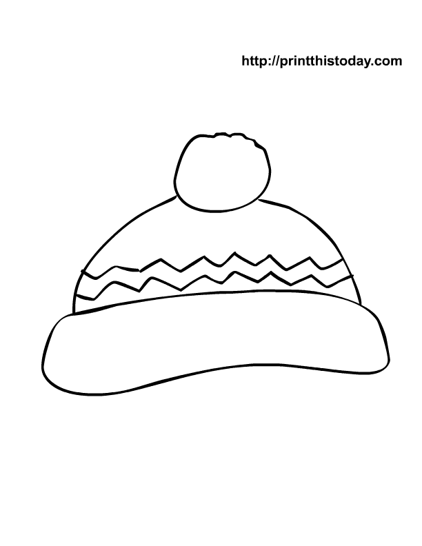 snowman tophat coloring pages - photo#27