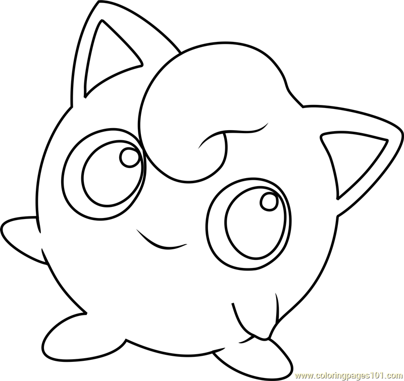 Jigglypuff Coloring Pages - Coloring Home
