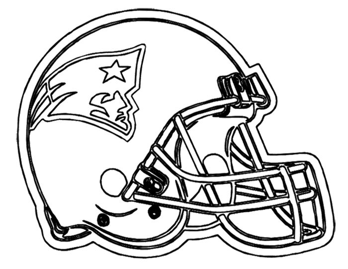 Nfl coloring pages new england patriots - ColoringStar