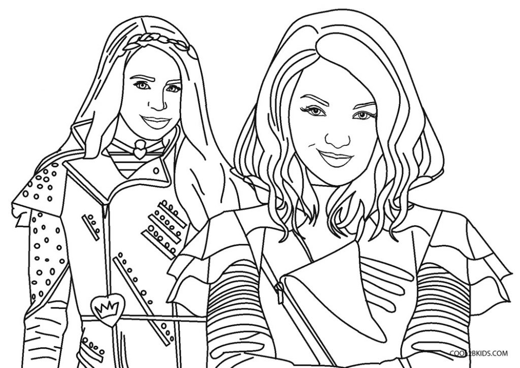Mal Coloring Pages - Coloring Home