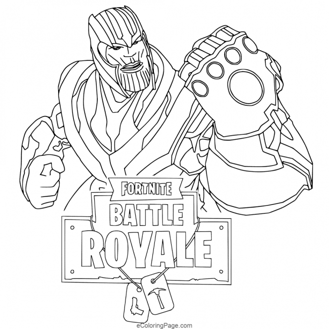 20 Fortnite Coloring Page Printable for Kids |