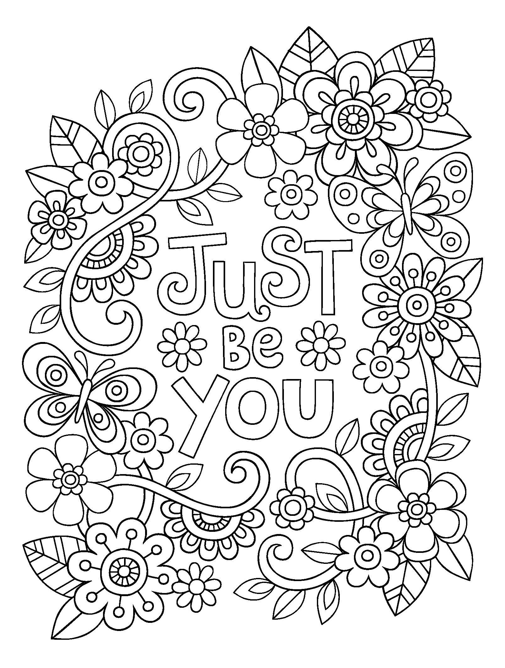 Motivational Coloring Pages Coloring Home
