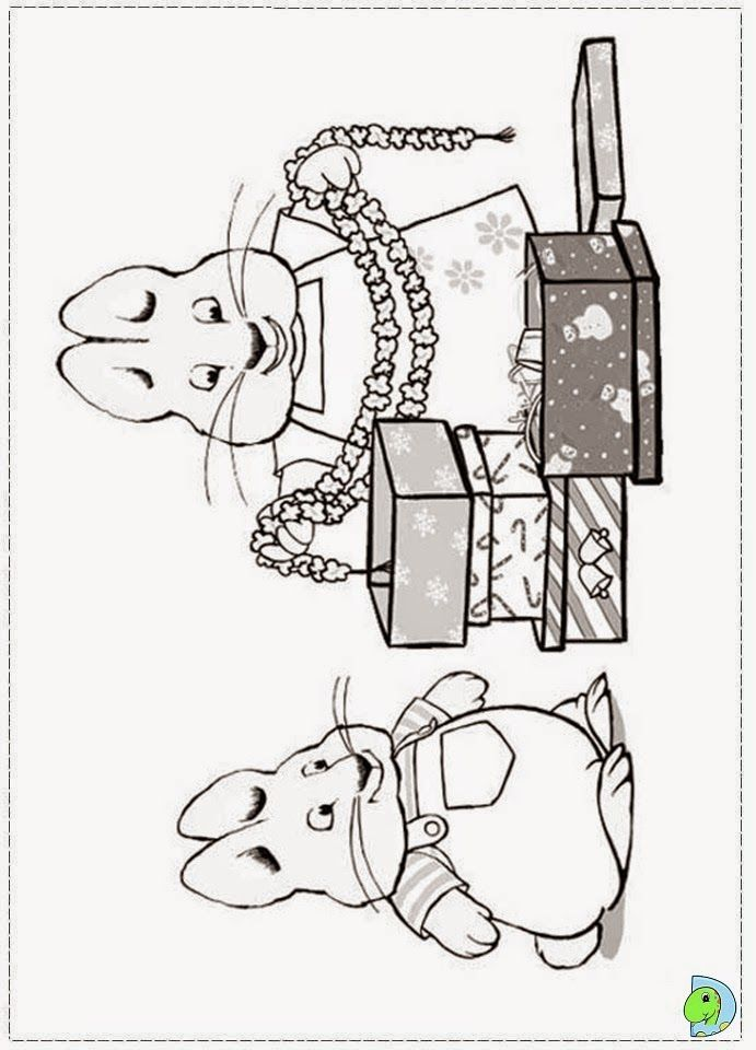 Ruby And Max Coloring Pages To Print Free Coloring Pages