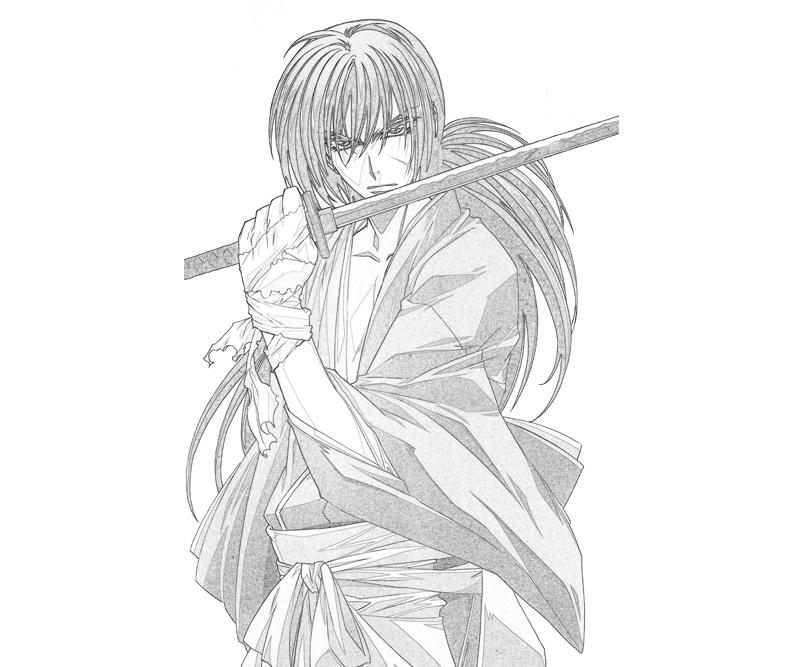coloring pages for rurouni kenshin - photo#16