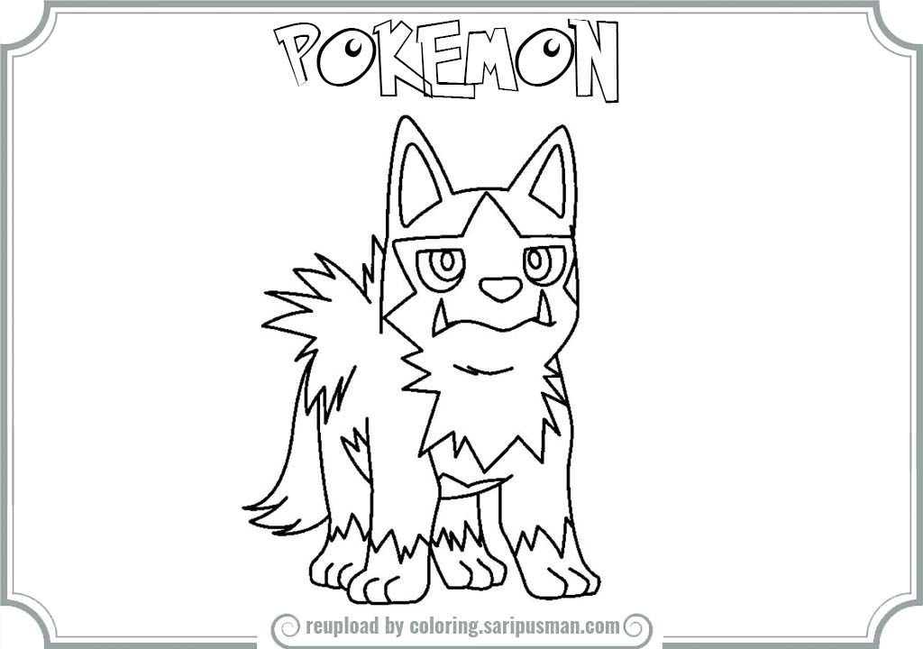 mightyena coloring pages - photo#37