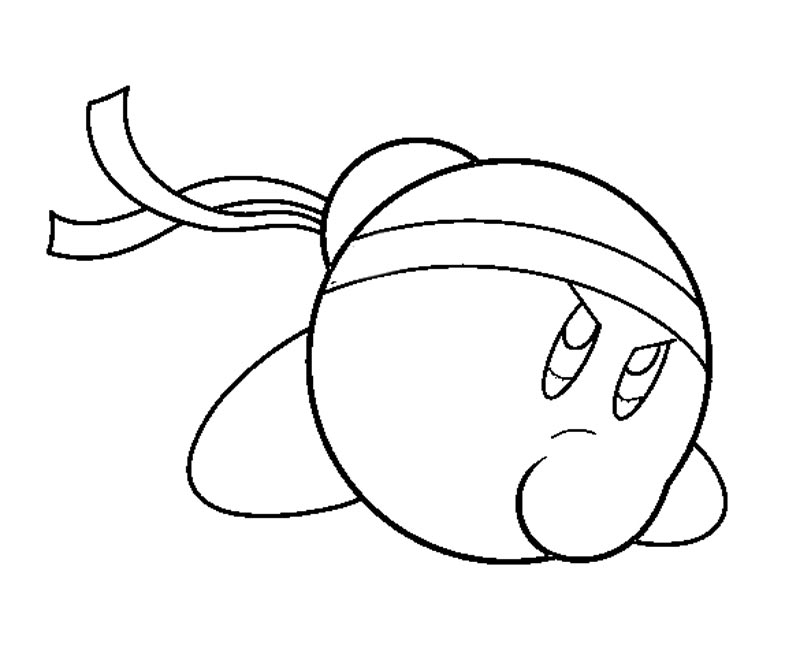 Kirby Coloring Pages Online