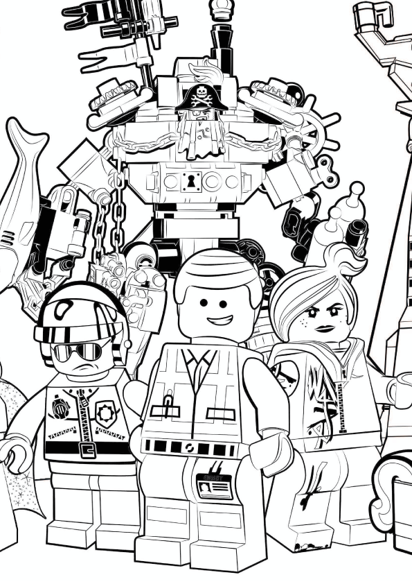Lego Movie 2 Coloring Pages - Coloring Home