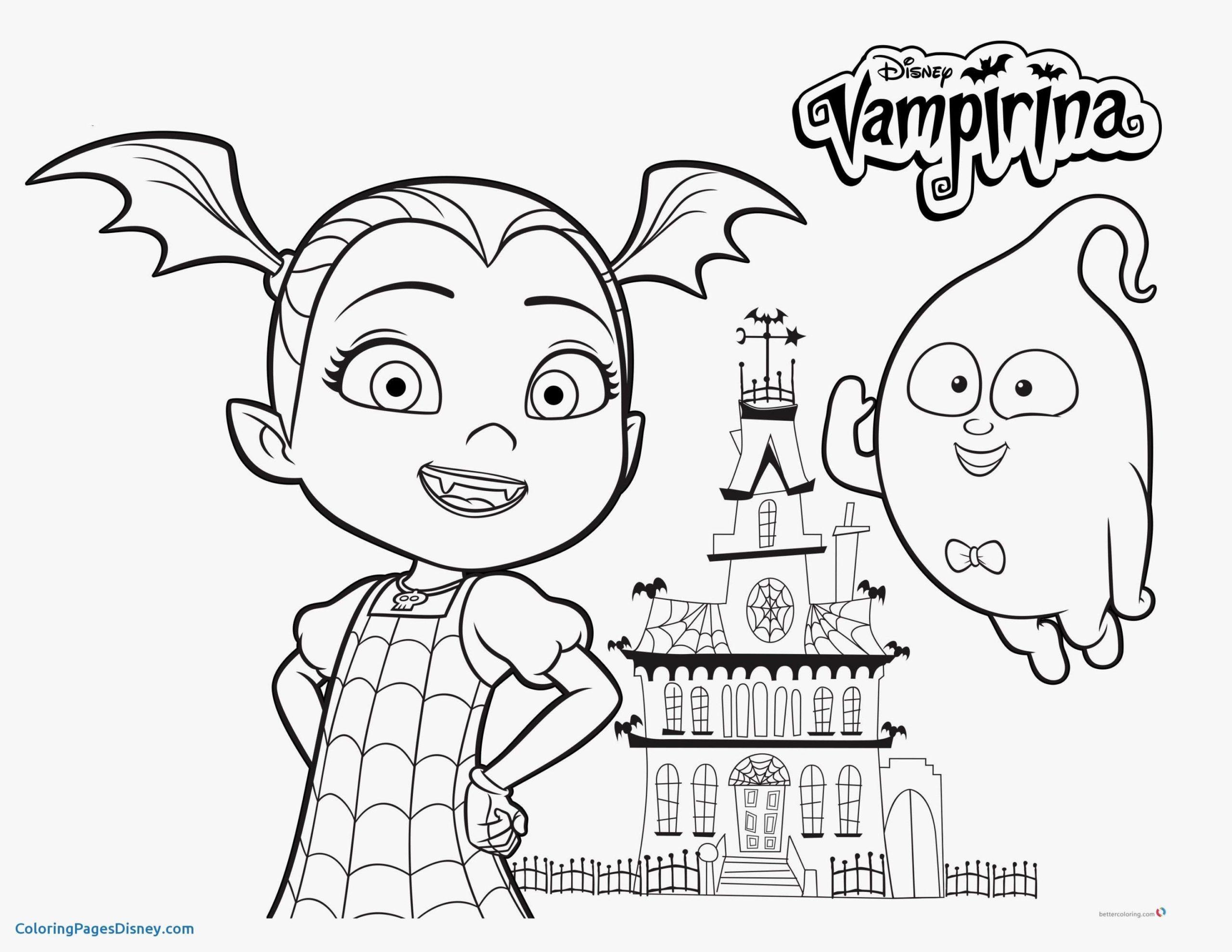 Coloring Pages Colouring Vampirina Pusat Hobi Coloring Book Coloring Home
