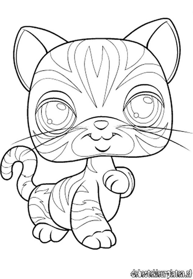 Lps tiger coloring pages coloring home for Lps popular coloring pages