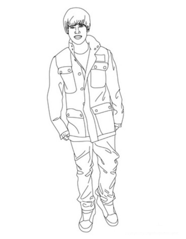 justin bieber boyfriend coloring pages | Free Printable Coloring Pages Of Justin Bieber - Coloring Home