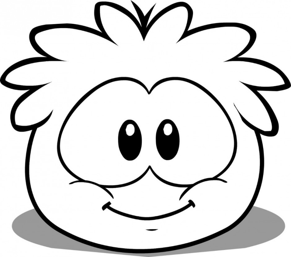 cute penguin coloring pages - photo#10