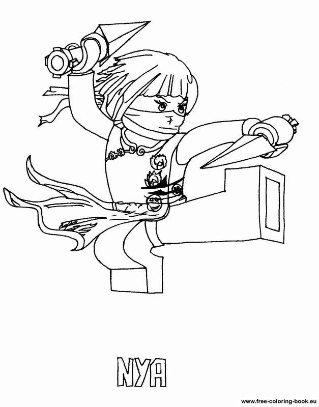 Lego Ninjago Coloring Page Coloring Home