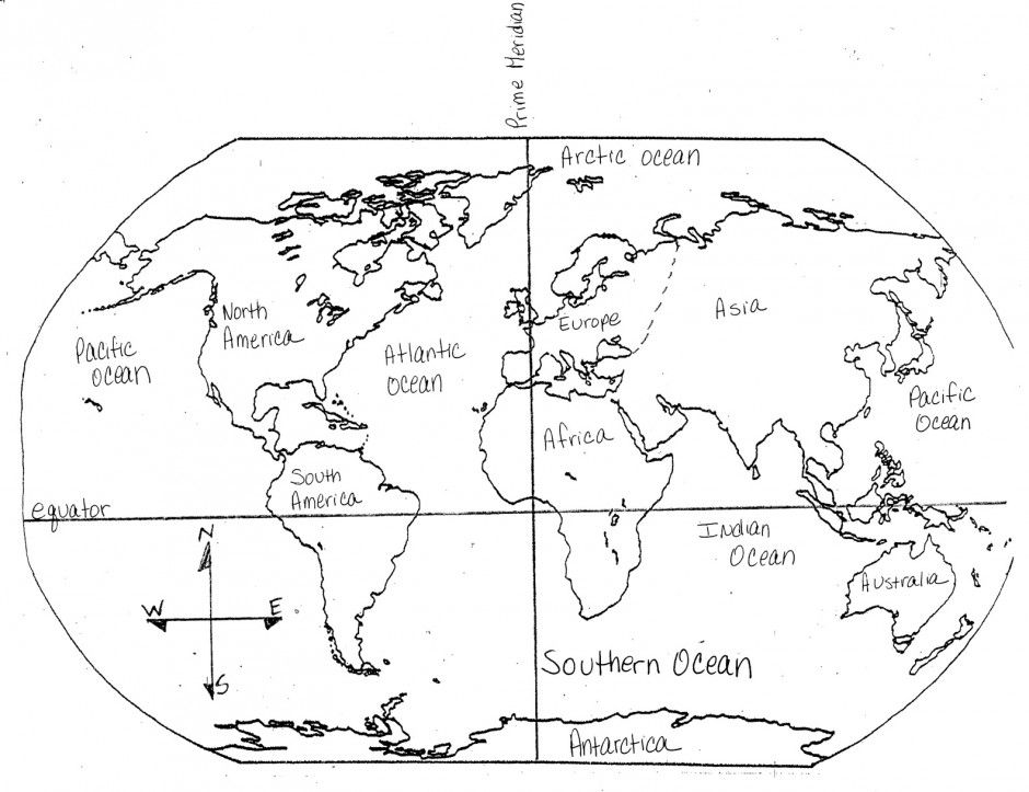 Pictures of continents coloring home for Continents coloring page