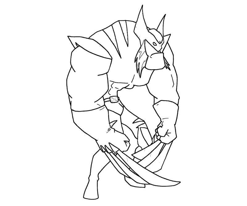 Female Wolverine Coloring Pages Coloring Pages