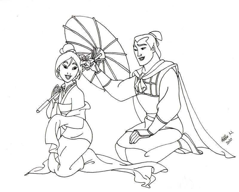 Mulan Characters With Pictures - Coloring Home