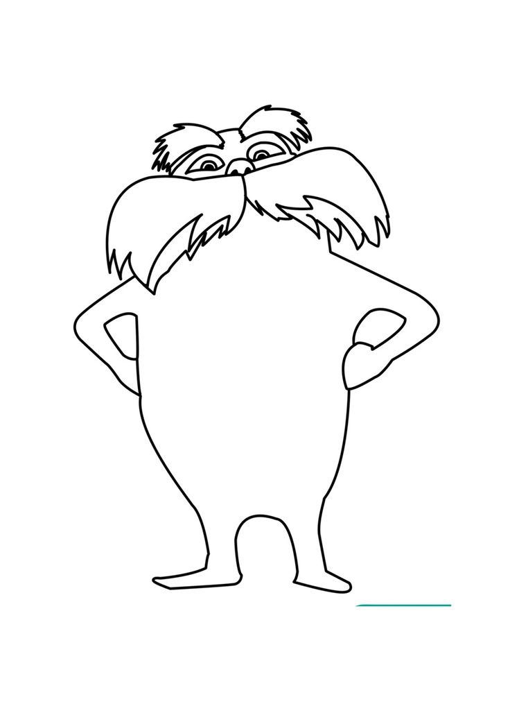 Lorax Coloring Pages Az Coloring Pages Dr Seuss The Lorax Coloring Pages
