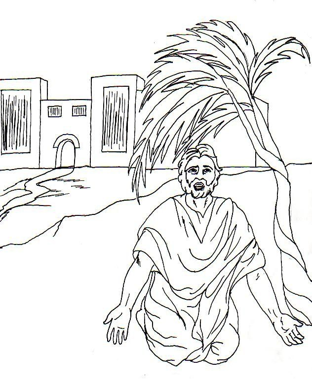 Jonah And The Whale Bible Story Coloring Pages - Coloring Home