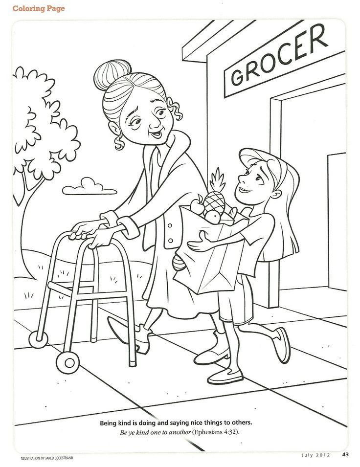 Gallery For gt Kindness Coloring Pages
