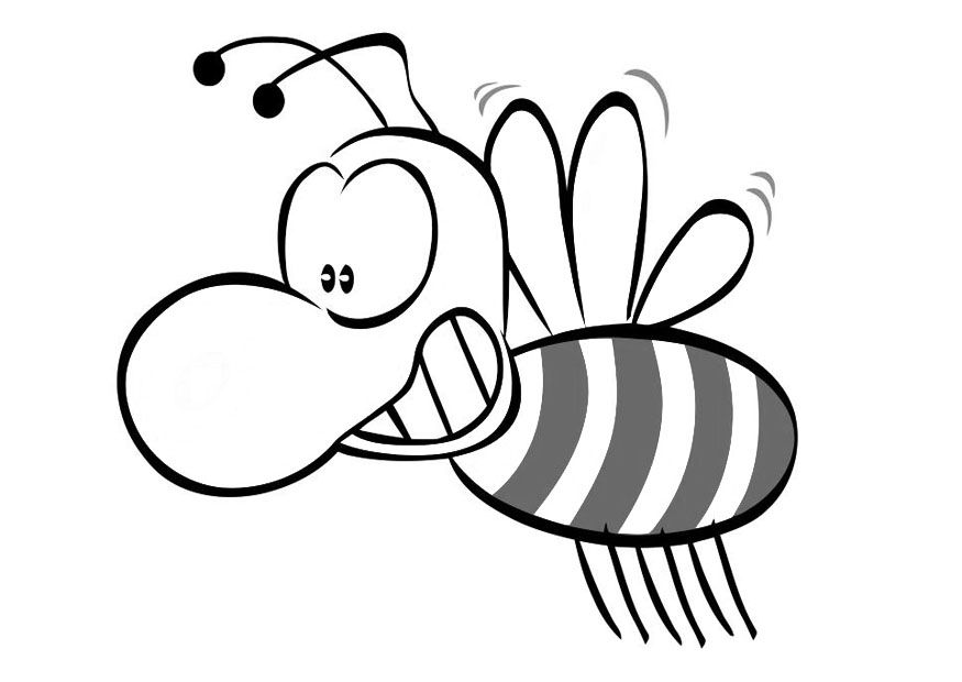 Bee Coloring Pages Coloring Home