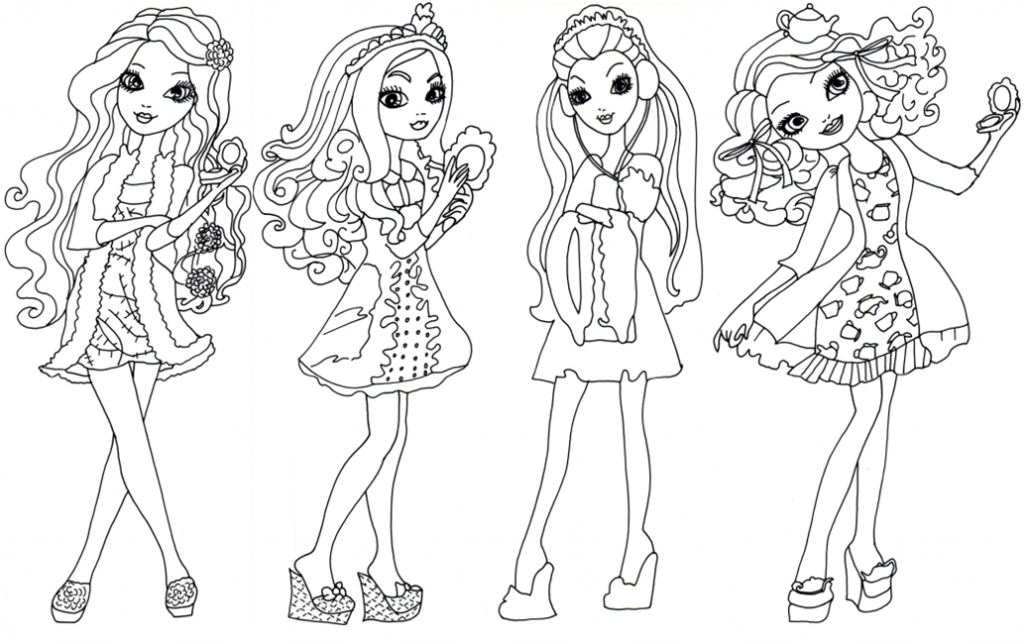 Monster High Coloring Pages All Characters Coloring Home High Characters Coloring Pages