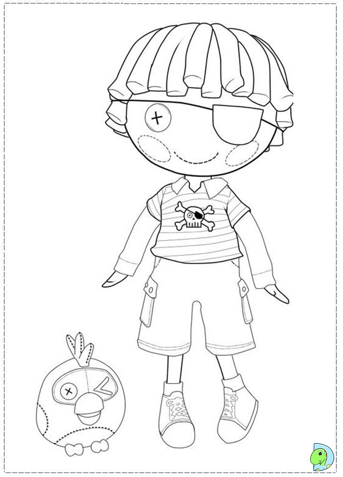 Lalaloopsy Coloring Pages Online Az Coloring Pages Lalaloopsy Coloring Pages To Print