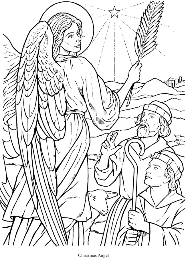 Angel Coloring Book Pages  AZ Coloring Pages