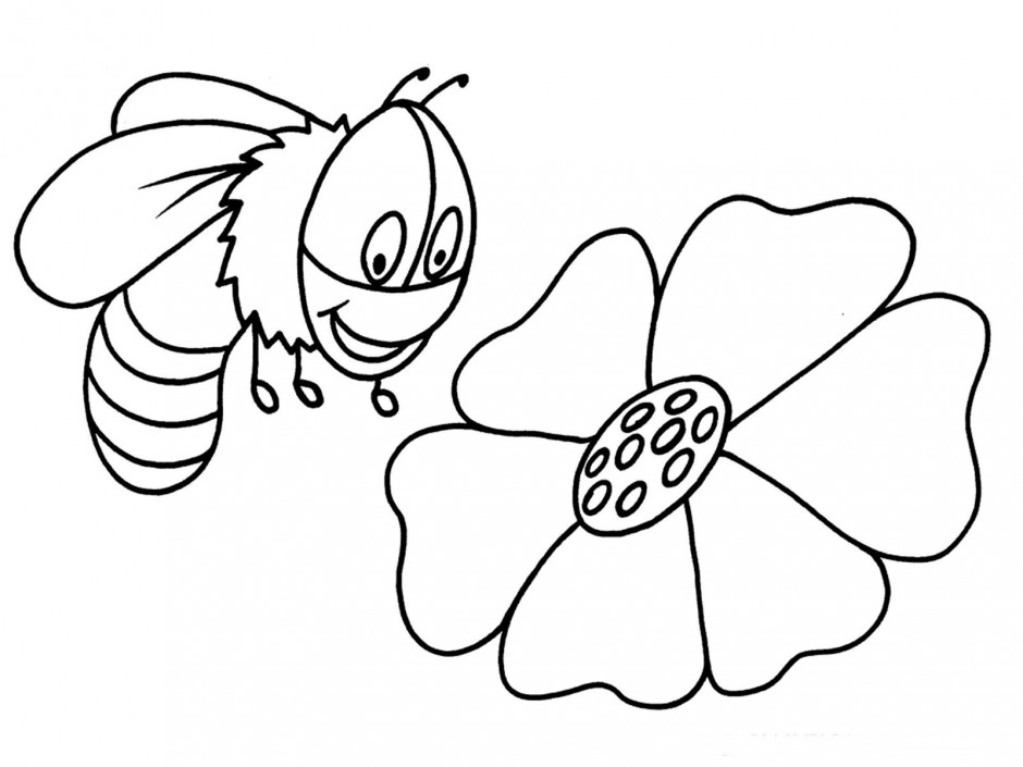 honey bee coloring page az coloring pages