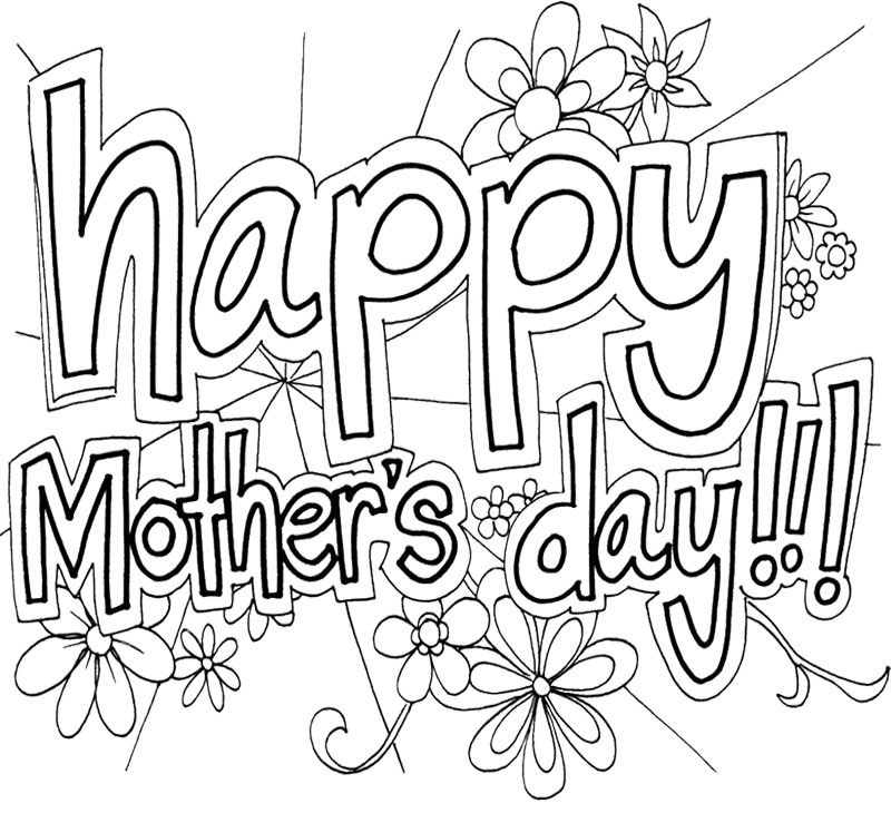 Mothers day coloring pages az coloring pages for Mother s day spanish coloring pages