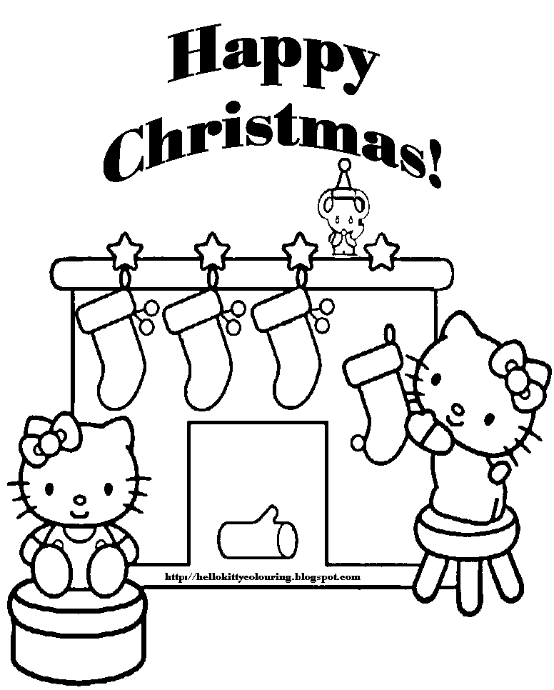 christmas coloring pages to color - photo#23