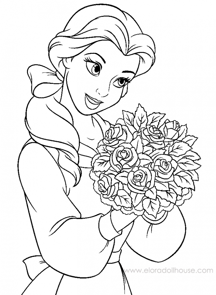 Beauty And The Beast Drawings AZ Coloring Pages