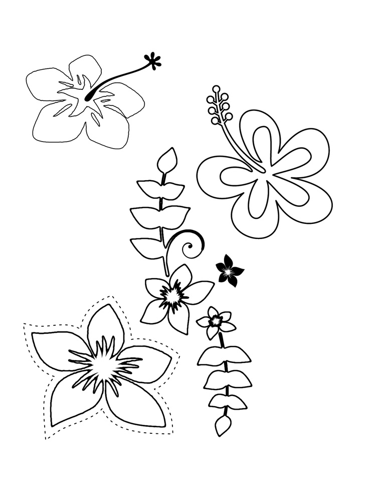Hawaiian luau coloring pages az coloring pages for Free coloring pages luau