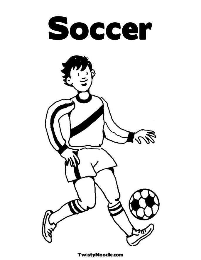 domo soccer Colouring Pages