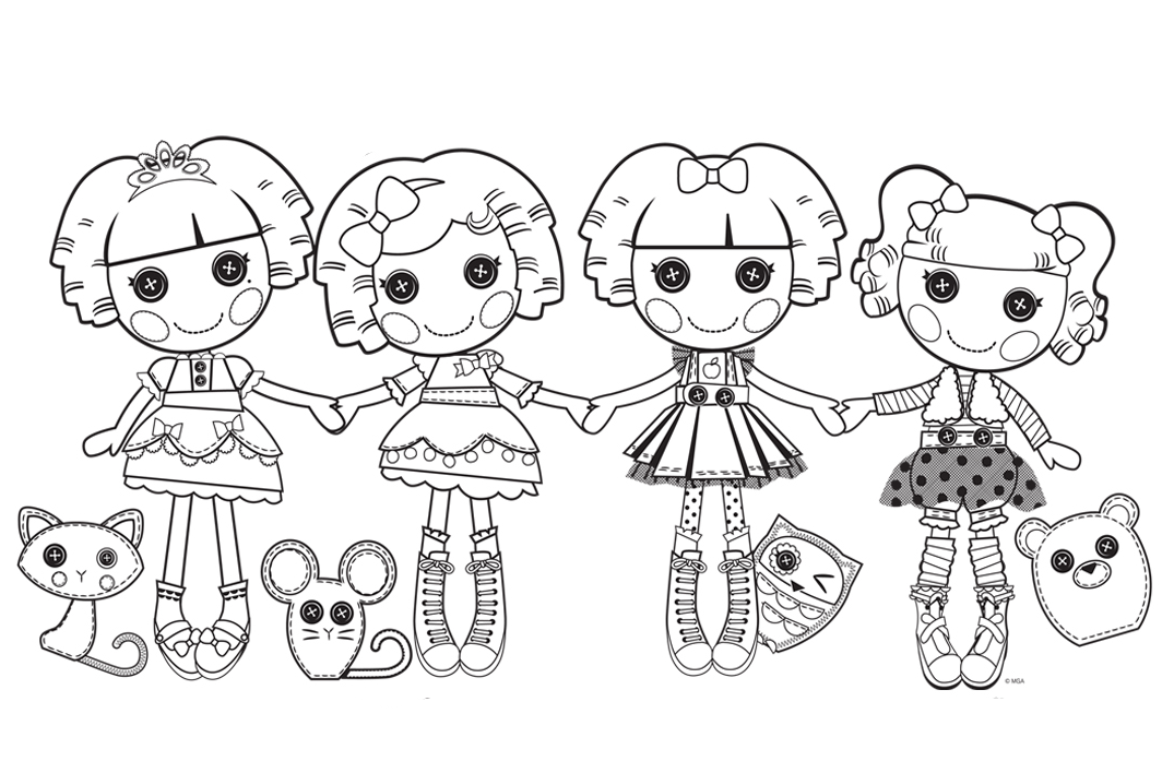 lalaloopsy coloring pages for kids - photo#30
