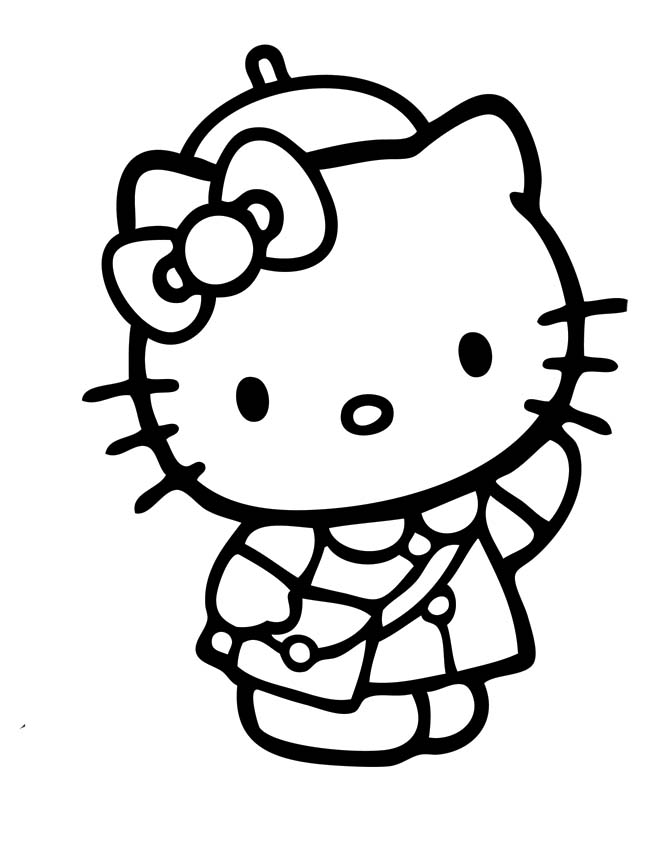 bad kitty coloring pages - a bad case of stripes free coloring pages