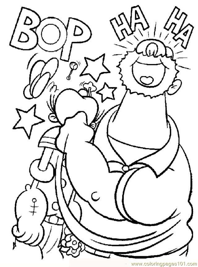 Popeye Coloring Pages Printable  Coloring Home