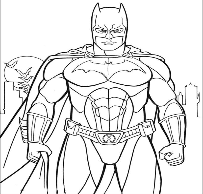 Batman Emerges From The Dark Coloring Pages Riddler