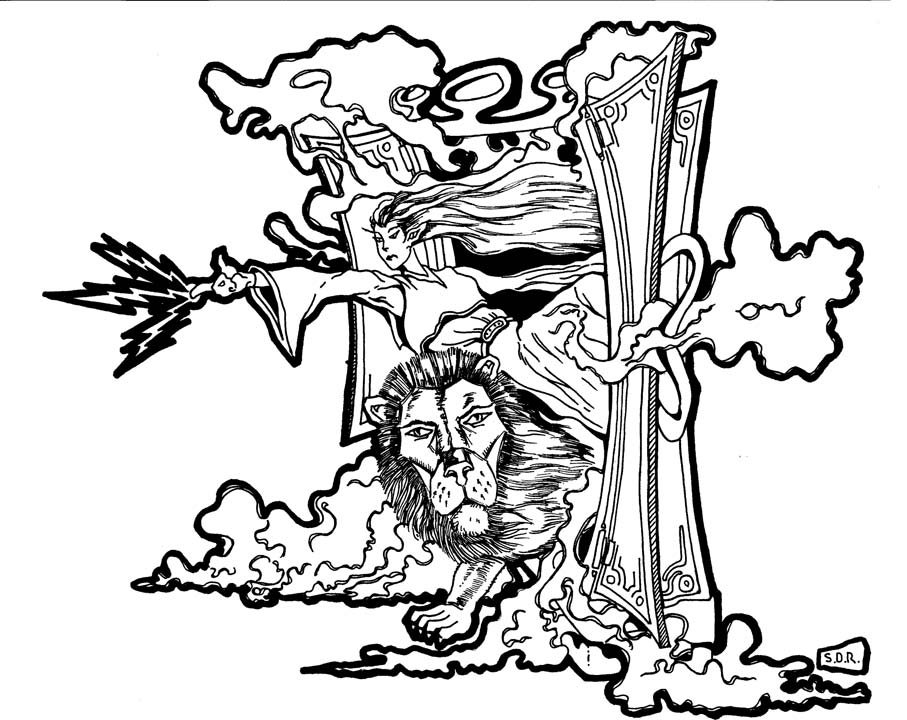 narnia coloring pages free - photo#47