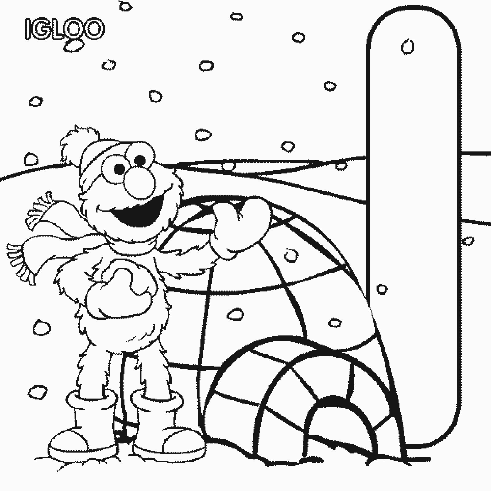 Adult Cute Sesame Street Alphabet Coloring Pages Gallery Images cute elmo alphabet coloring pages az igloo letter i sesame street page gallery images