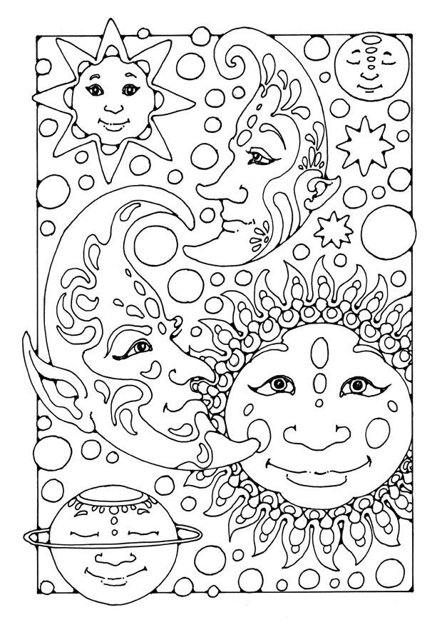 coloring pages of fantasy - photo#30