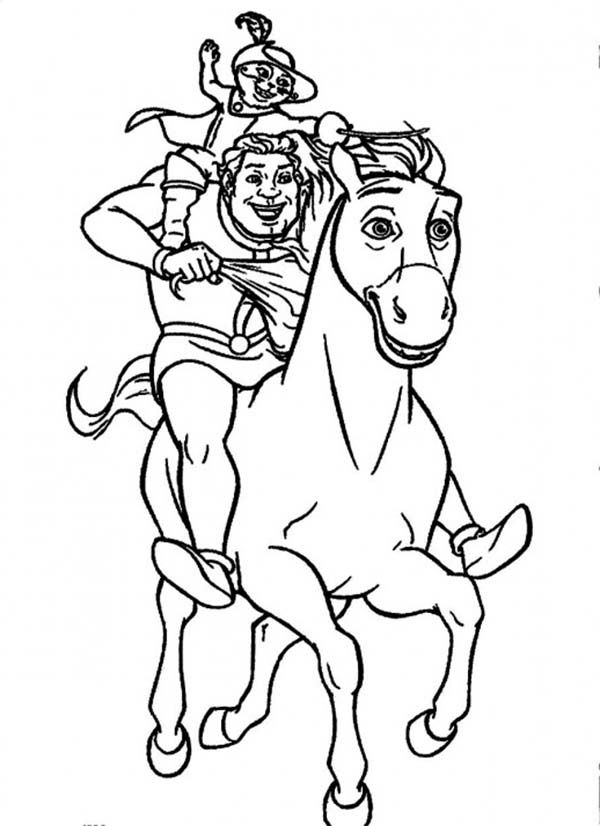 Puss In Boots Coloring Page Coloring