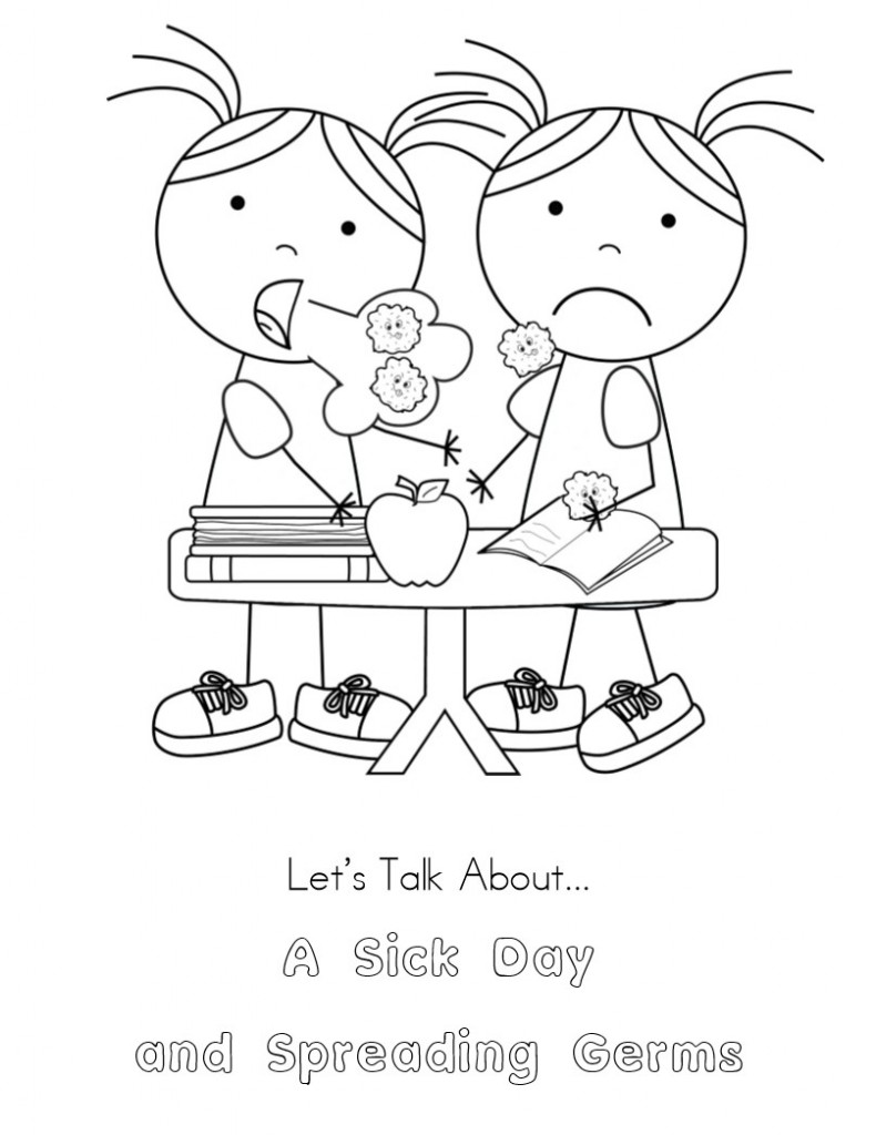 germ coloring pages coloring home