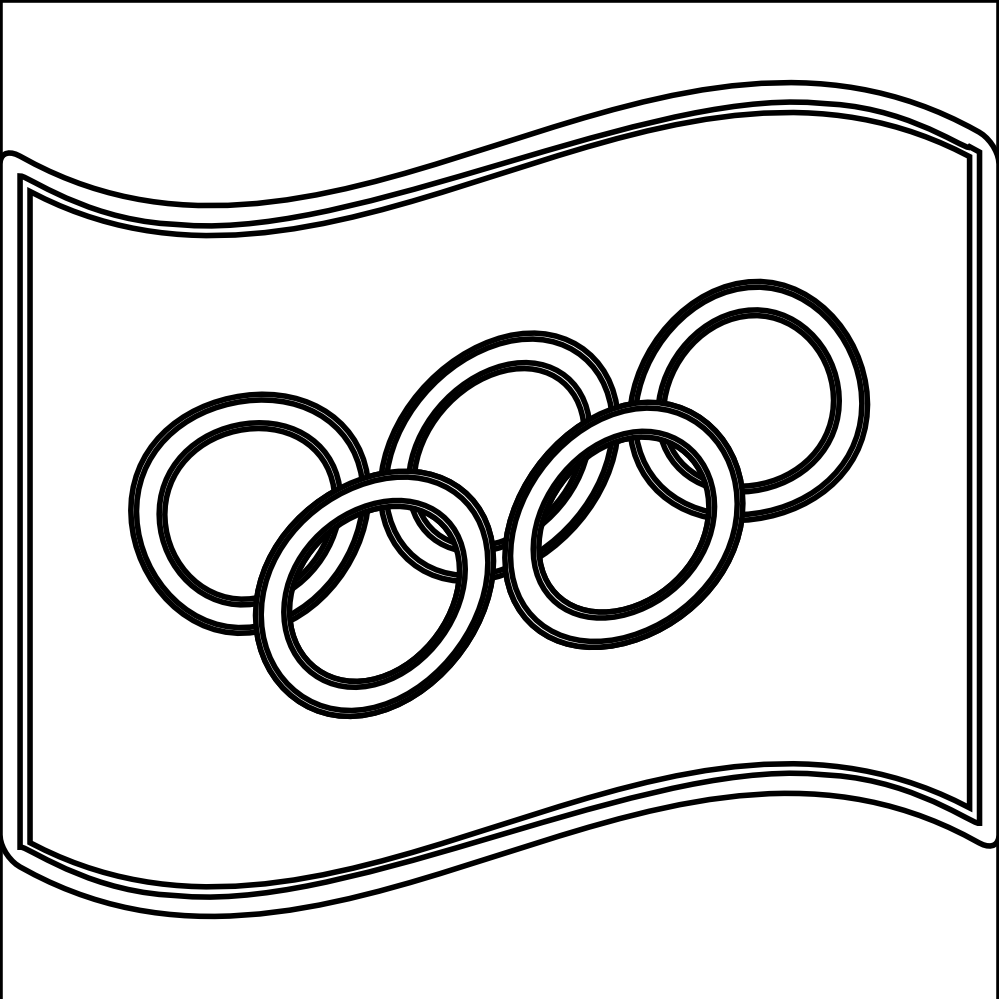 olympic ring coloring page coloring home