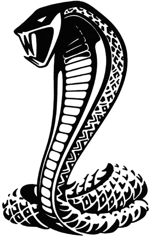 Poisonous Snake King Cobra Coloring Pages