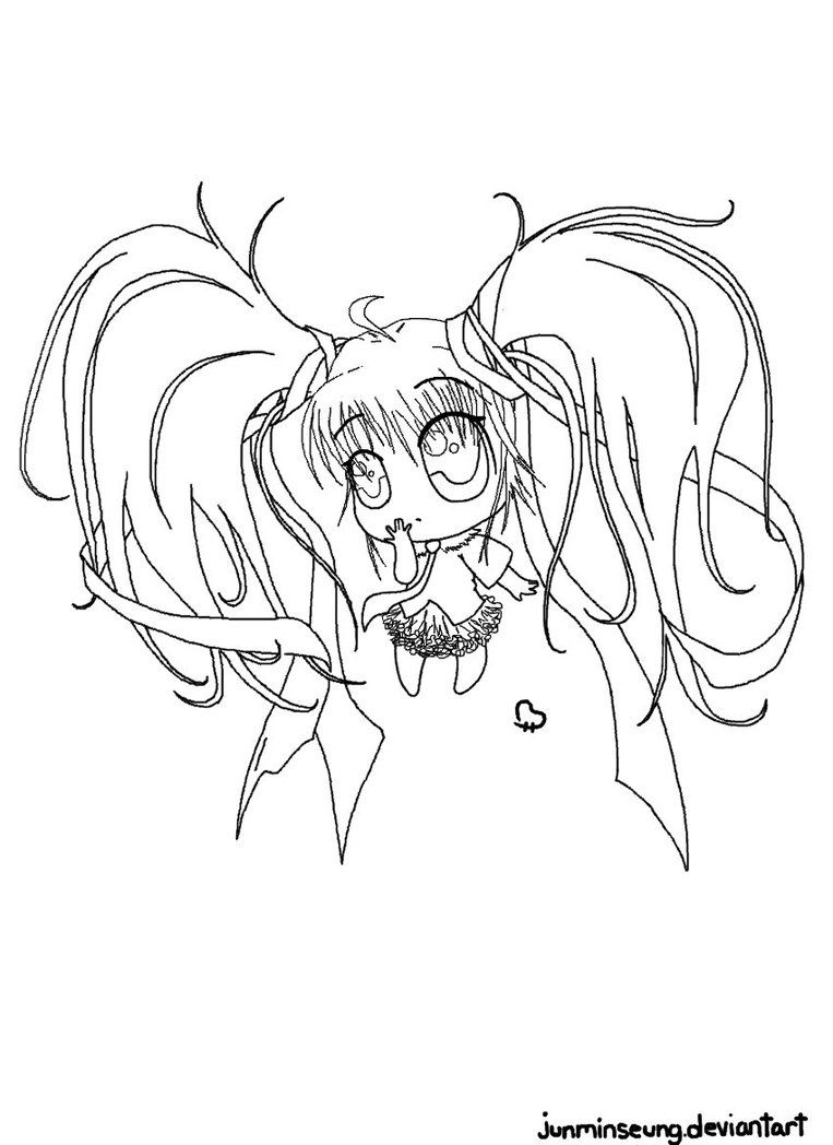 Hatsune Miku Coloring Page By Junminseung On Deviantart Coloring Hatsune Miku Coloring Pages