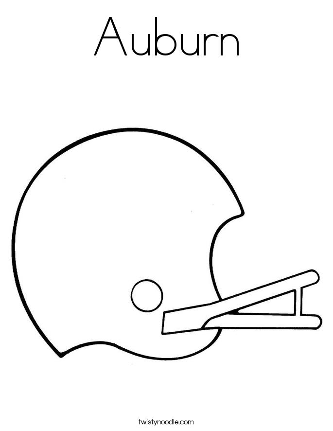 auburn football coloring pages | Auburn Tigers Football Coloring Pages - Coloring Home