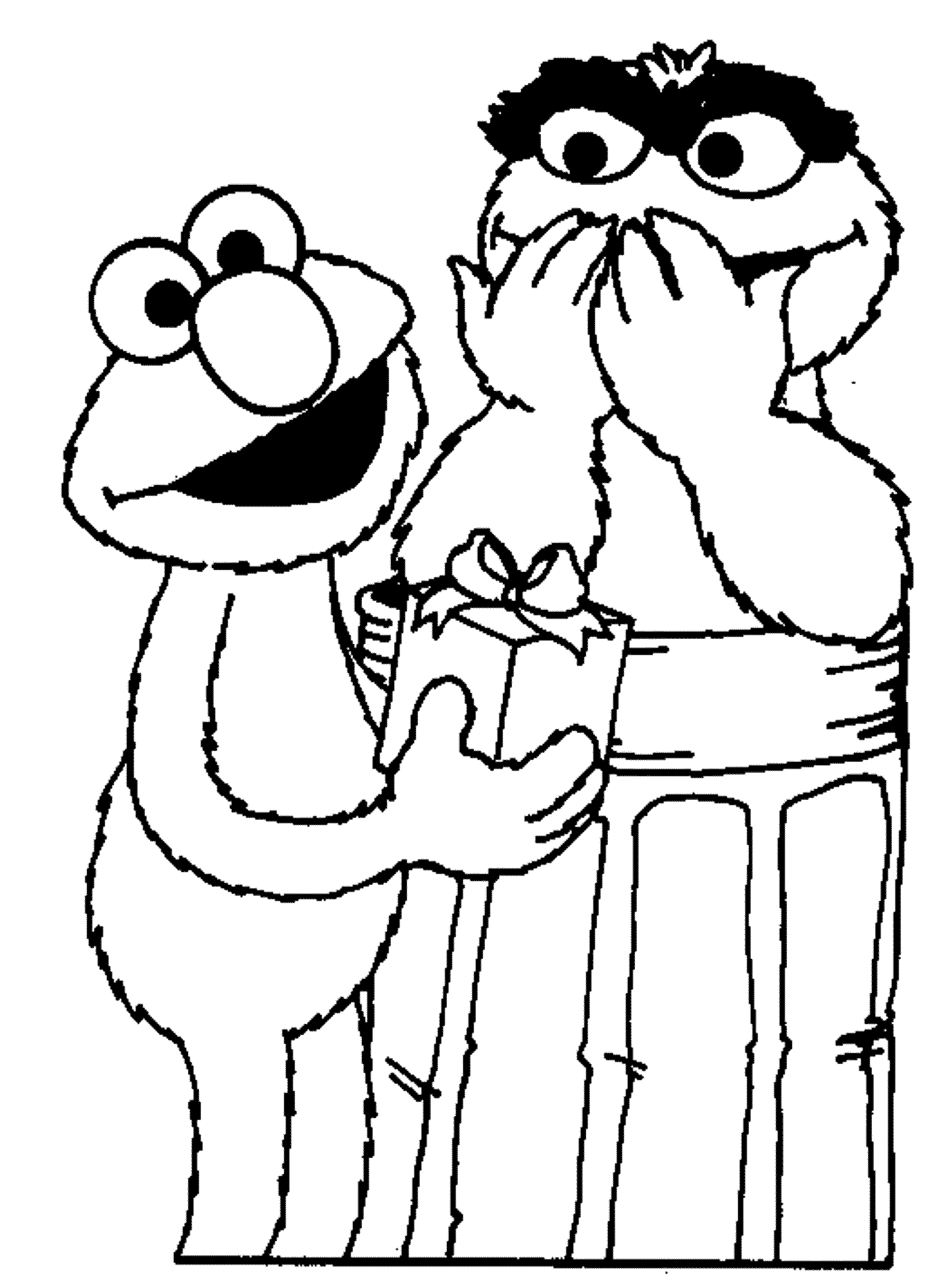 Free coloring pages elmo - Free Printable Elmo Birthday Coloring Pages Voteforverde Com
