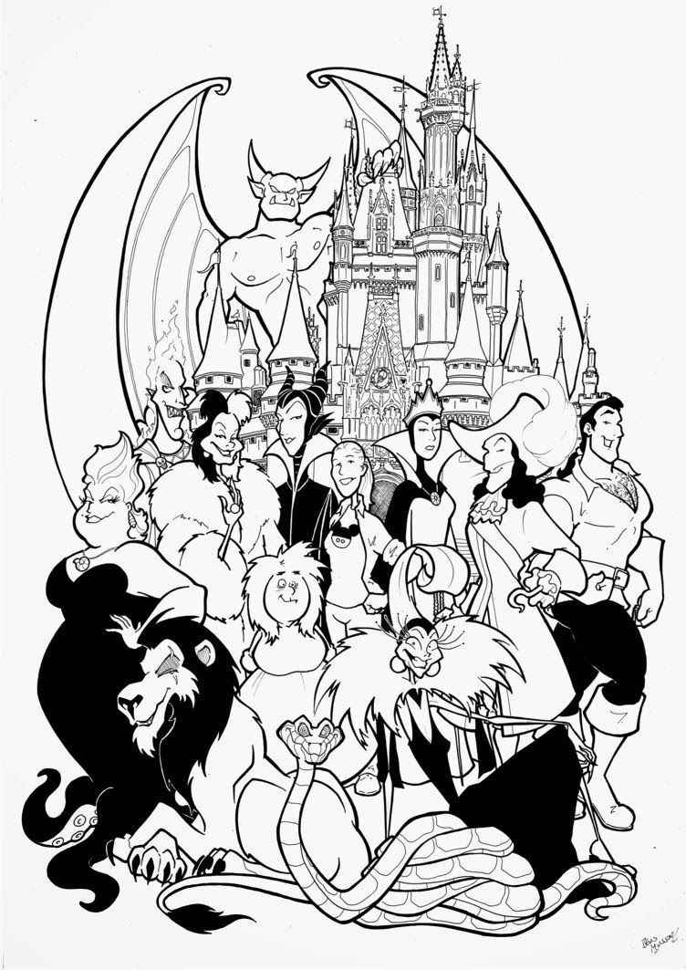 favorite disney movie coloring pages - photo#36